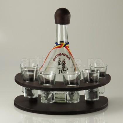 Minibar Cu Sticla Si 6 Pahare-102238