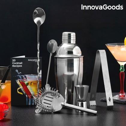Set de Cocktail cu Carte de Rețete InnovaGoods (6 Piese)