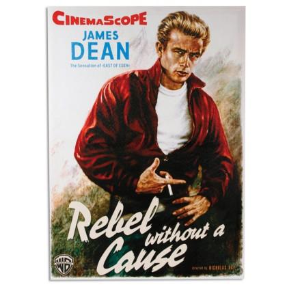 Poster Pânză In James Dean în Rebel Fără Cauză 50 x 70