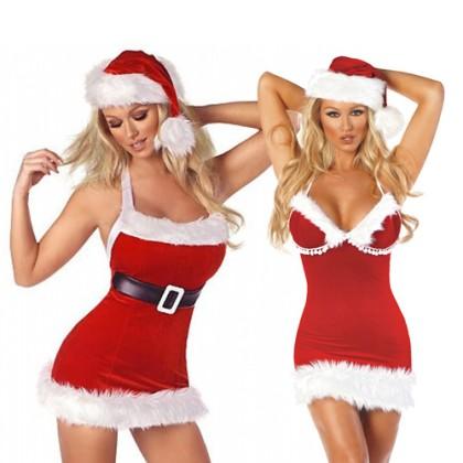 Costum Sexy Crăciunița