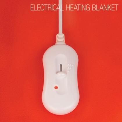 Pătură Electrică Dublă de Încălzit (Husă Încălzită) 160 x 140