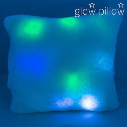Pernă Fosforescentă cu Lumină LED