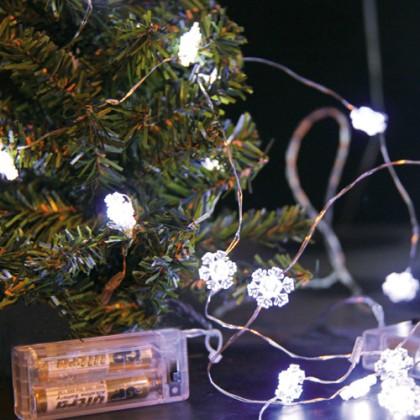 Ghirlandă de Crăciun cu Lumini