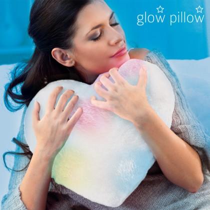 Pernă LED în Inimă Glow Pillow