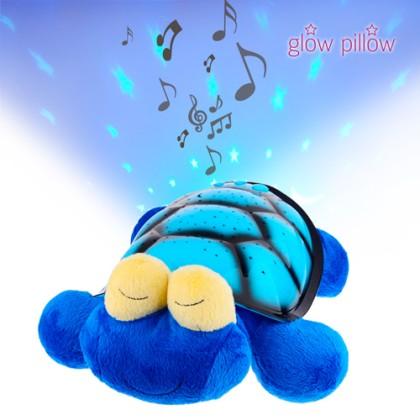 Jucărie de Pluș Glow Pillow cu Proiector LED