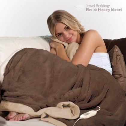 Pătura Electrică cu Încălzire Electric Fleece Blanket 160 x 120 cm
