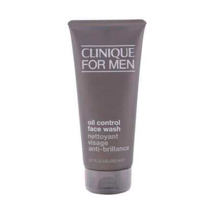 Clinique - MEN oil-control face wash 200 ml