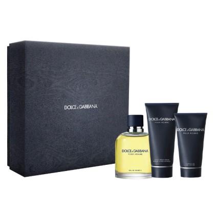 Dolce & Gabbana - DOLCE & GABBANA POUR HOMME LOTE 3 pz