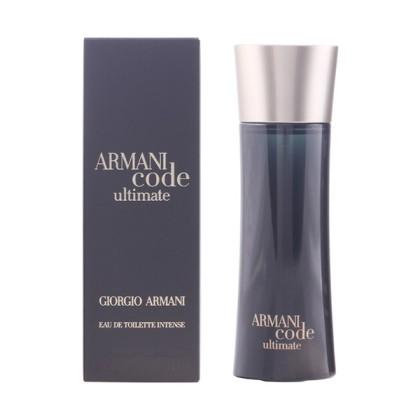 ARMANI CODE ULTIMATE edt intense vaporizador 75 ml