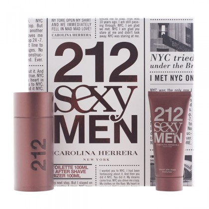Carolina Herrera - 212 SEXY MEN LOTE 2 pz