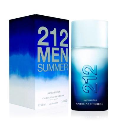 Carolina Herrera - 212 MEN SUMMER 2013 edt vapo limited edition 100 ml