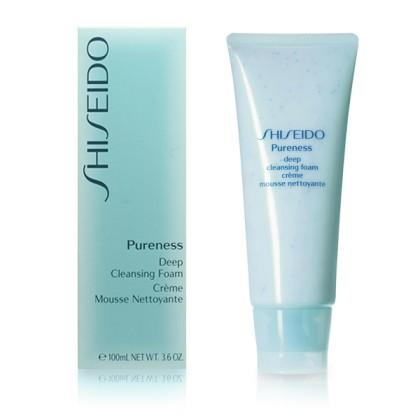 Shiseido - PURENESS deep cleansing foam 100 ml