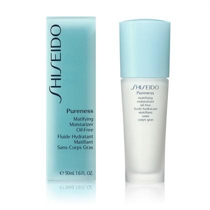 Shiseido - PURENESS matifying moisturizer oil free 50 ml