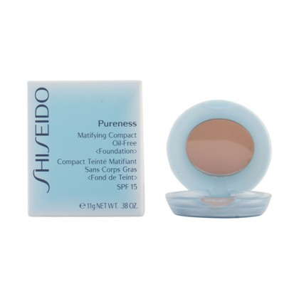 Shiseido - PURENESS matifying compact 40-natural beige 11 gr