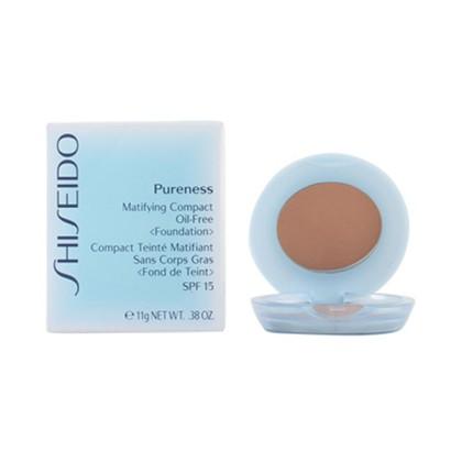 Shiseido - PURENESS matifying compact 50-deep ivory 11 gr