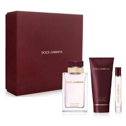 Dolce & Gabbana - DOLCE & GABBANA POUR FEMME LOTE 3 pz