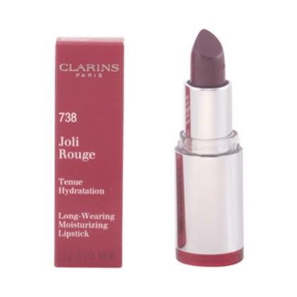 Clarins - JOLI ROUGE lipstick 738-royal plum 3.5 gr