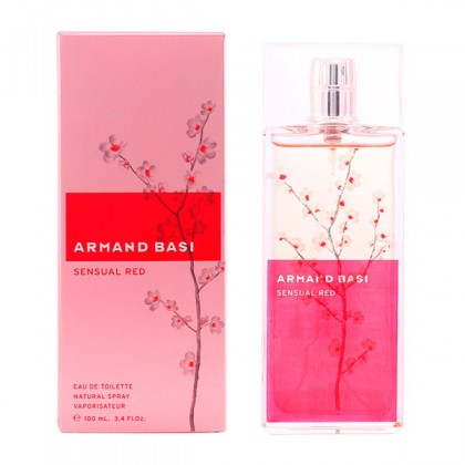 Armand Basi - SENSUAL RED edt vaporizador 100 ml