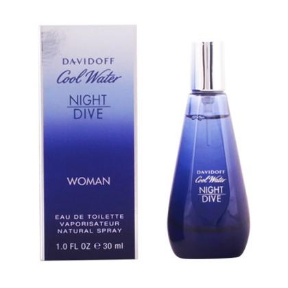 Davidoff - COOL WATER NIGHT DIVE WOMEN edt vaporizador 30 ml