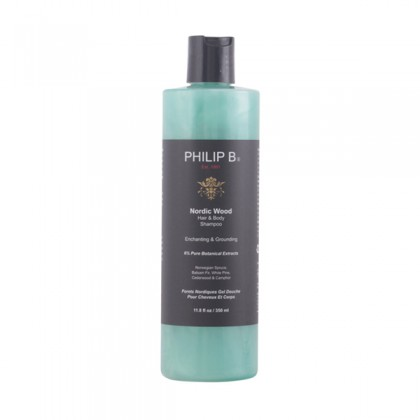 Philip B - NORDIC WOOD hair & body shampoo 350 ml