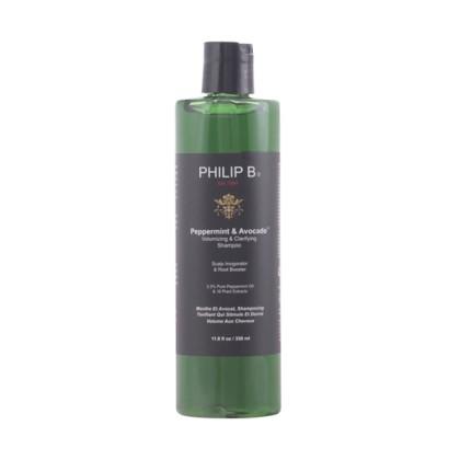 Philip B - PEPPERMINT & AVOCADO volumizing shampoo 350 ml