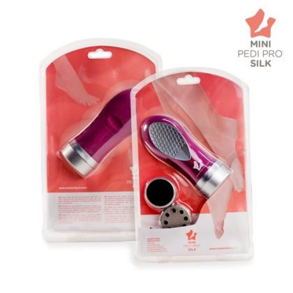 Dispozitiv pentru îndepărtarea bătăturilor Mini Pedi Pro Silk