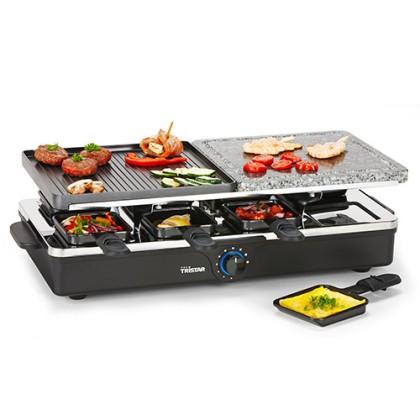 Raclette cu Grătar din Metal și Piatră Tristar RA2992