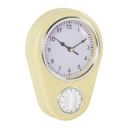 Ceas de Perete de Epocă cu Cronometru