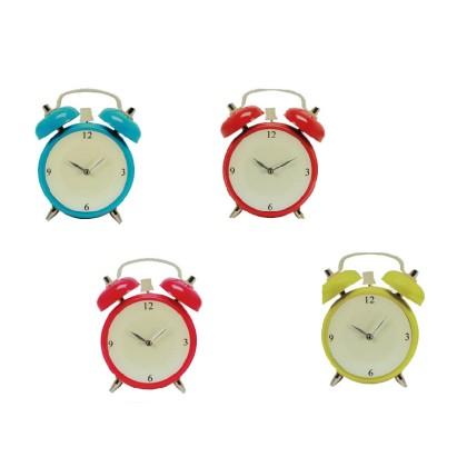 Ceas de Perete din Sticlă cu Alarmă