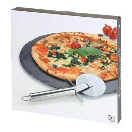 Piatră Pizza şi Cuţit pentru Pizza