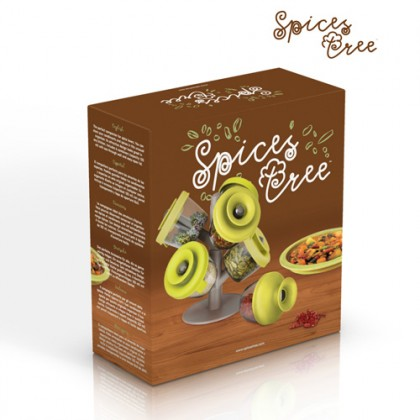Suport de Condimente Spices Tree