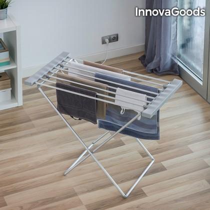 Uscător Electric Pliabil InnovaGoods 120W Gri (8 Bare)
