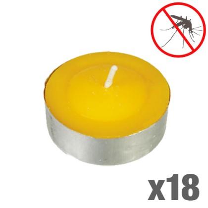 Lumânări Citronela Anti Țânțari (Pachet de 18)
